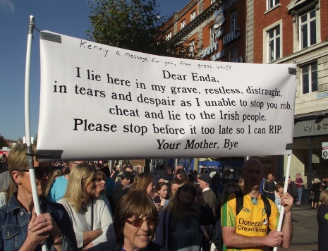 Enda Kenny is the Prime minister of Ireland, (I can't spell the Irish title for him!)